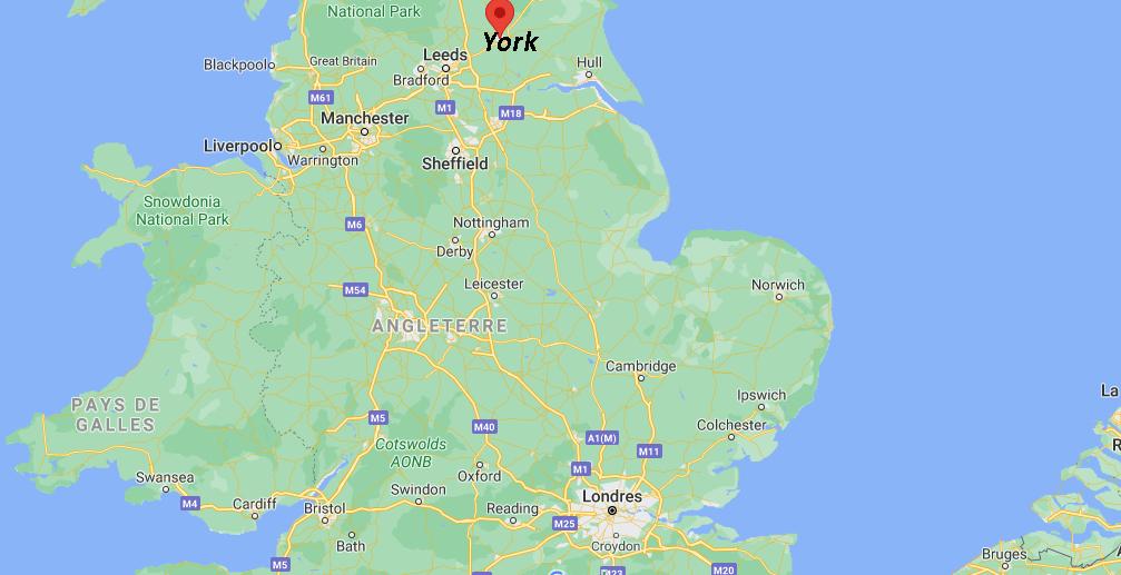 Où se situe York