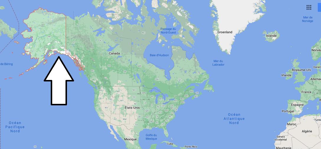 Où se situe la Alaska