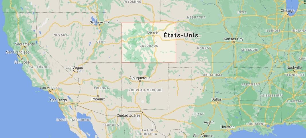 Où se situe le Colorado