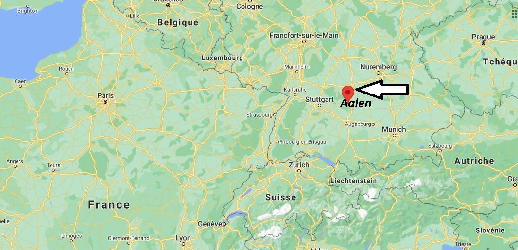 Où se trouve Aalen