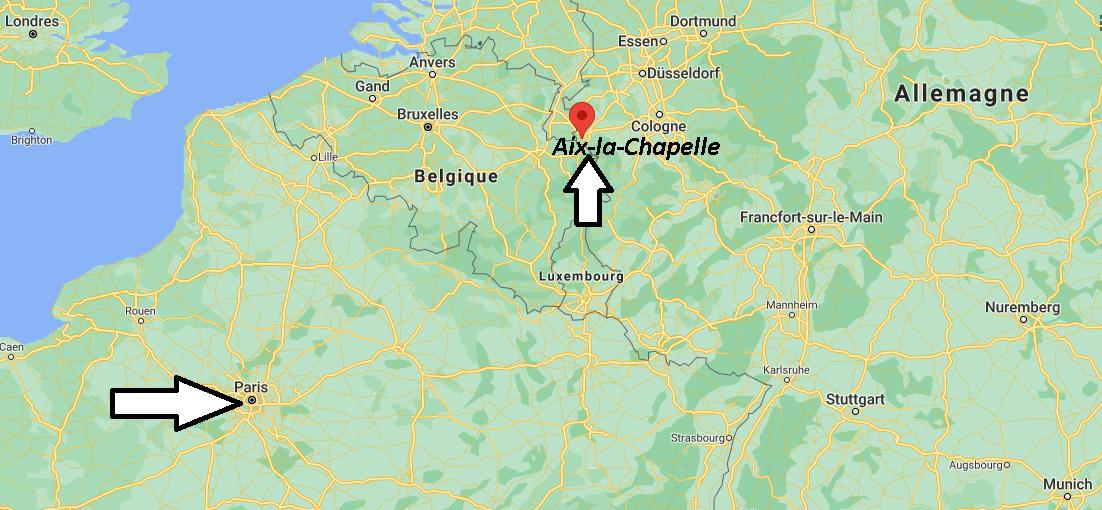 Où se trouve Aix-la-Chapelle
