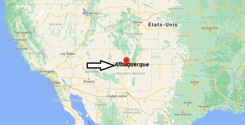 Où se trouve Albuquerque