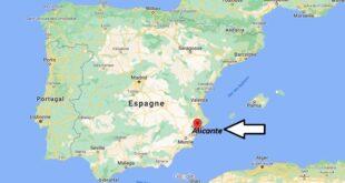 Où se trouve Alicante