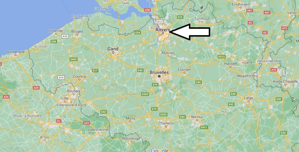Où se trouve Anvers