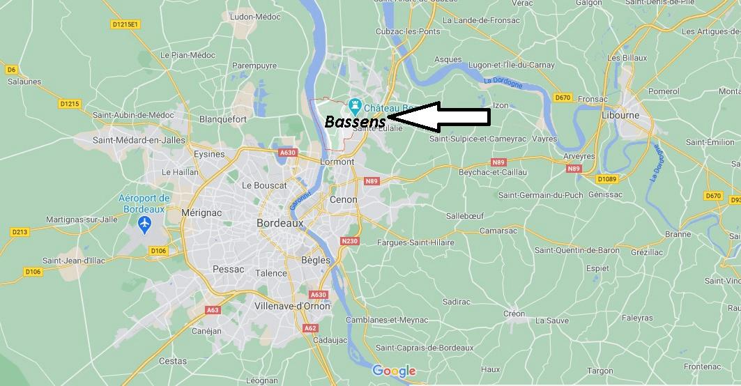 Où se trouve Bassens