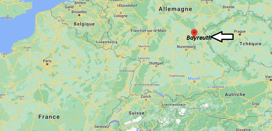 Où se trouve Bayreuth