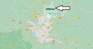 Où se trouve Bétheny