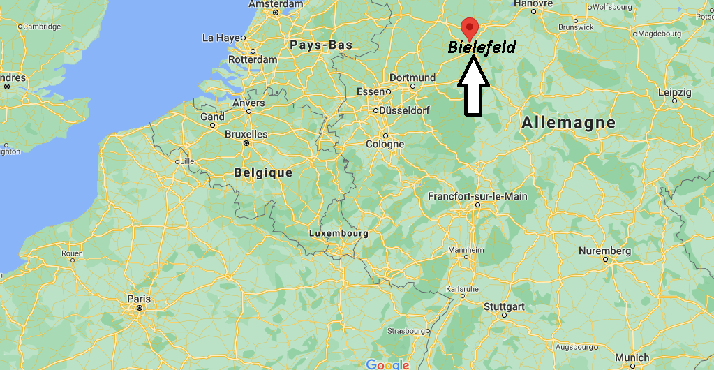Où se trouve Bielefeld