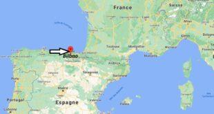 Où se trouve Bilbao