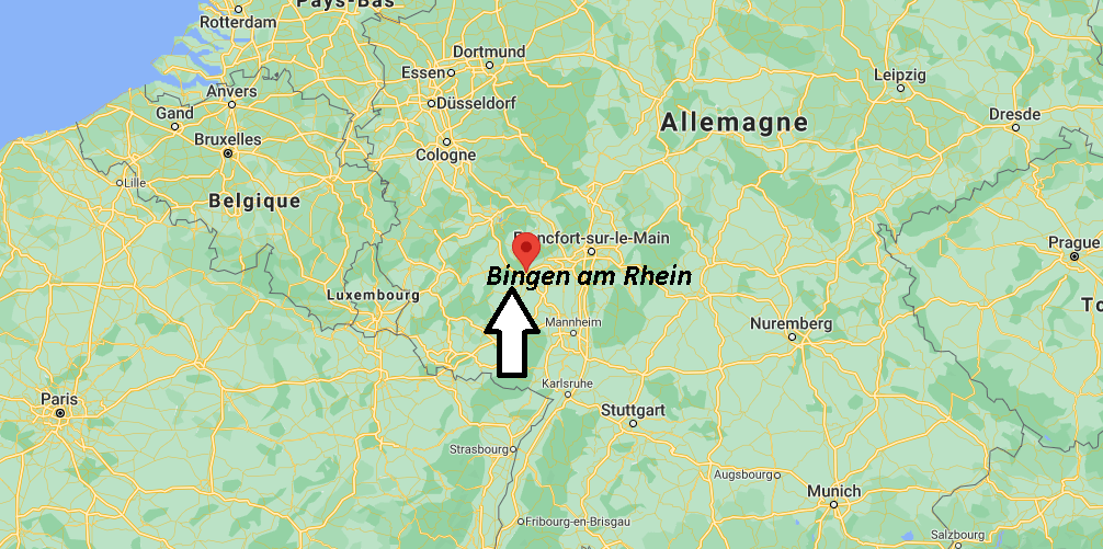 Où se trouve Bingen am Rhein