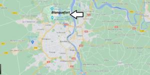 Où se trouve Blanquefort