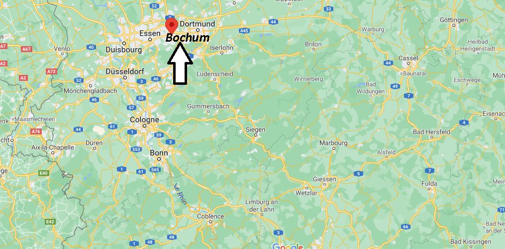 Où se trouve Bochum