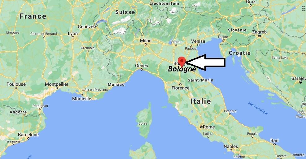 Où se trouve Bologne