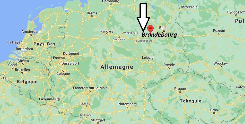 Où se trouve Brandebourg