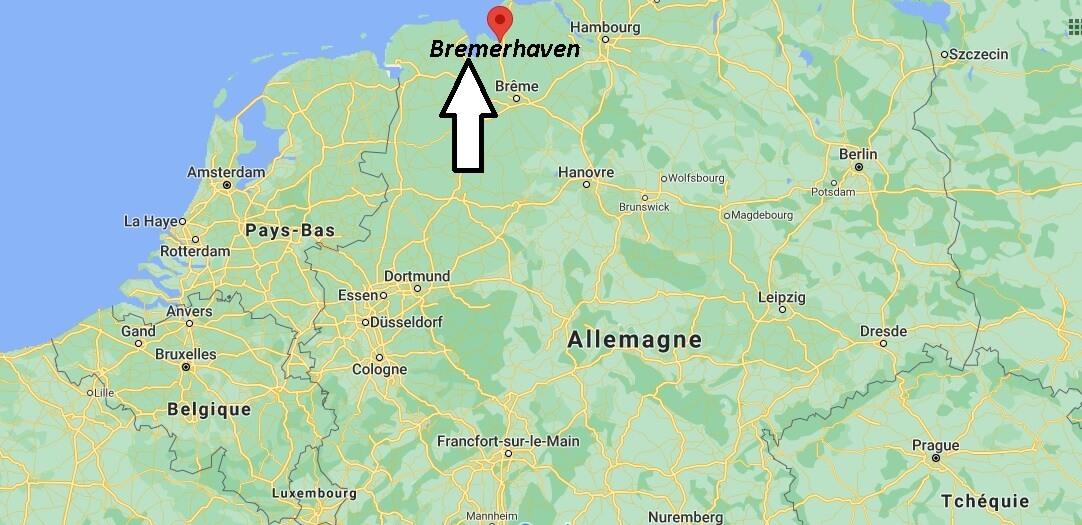 Où se trouve Bremerhaven