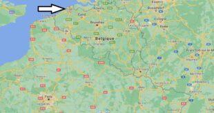 Où se trouve Bruges