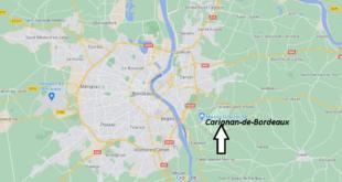 Où se trouve Carignan-de-Bordeaux