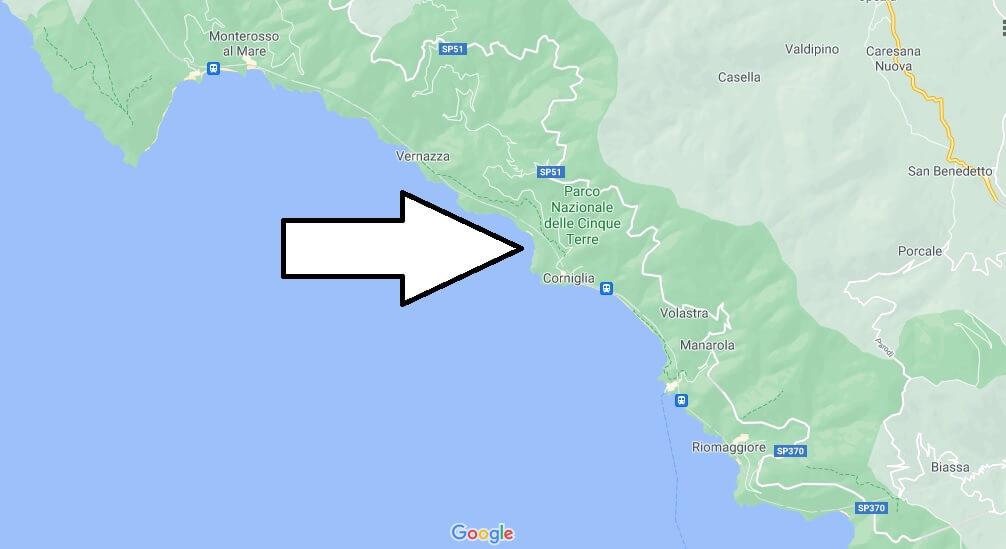 Où se trouve Cinque Terre