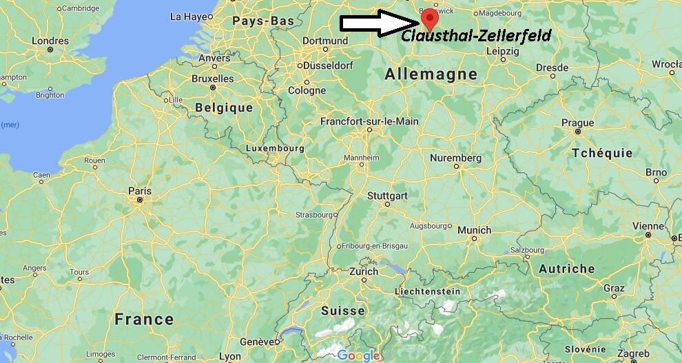Où se trouve Clausthal-Zellerfeld