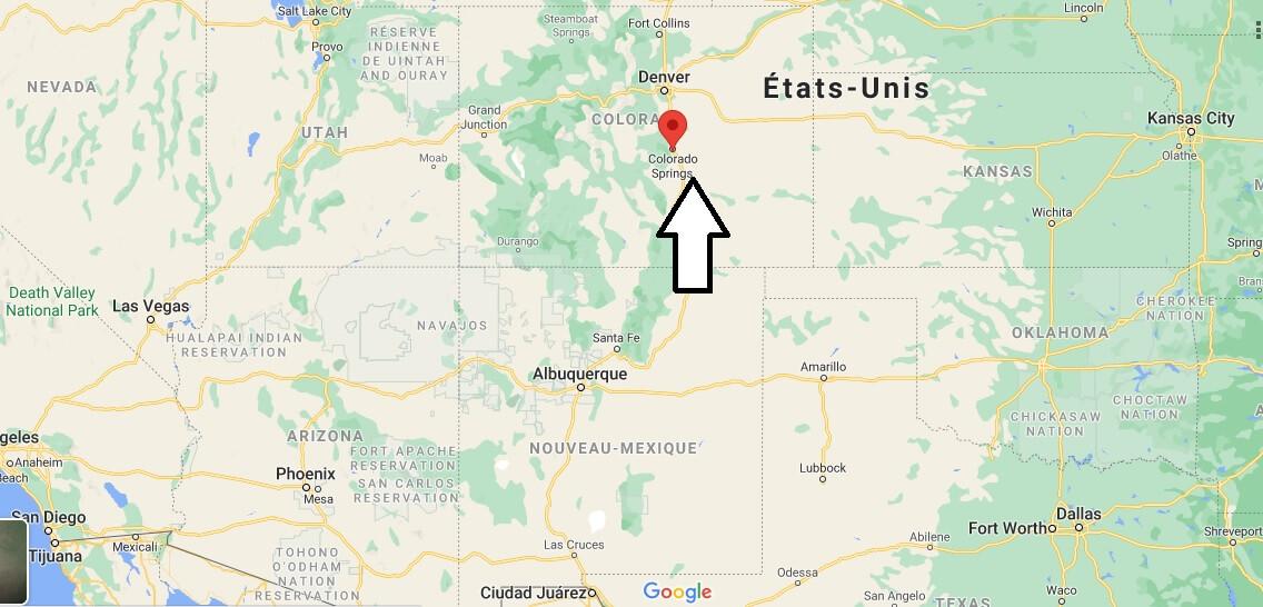 Où se trouve Colorado Springs
