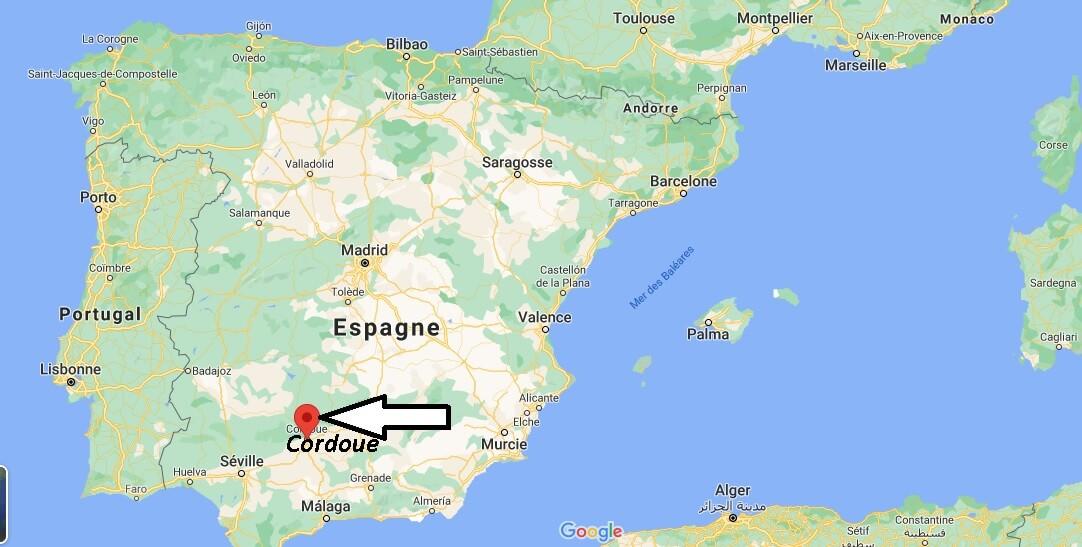 Où se trouve Cordoue
