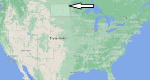 Où se trouve Dakota du Nord