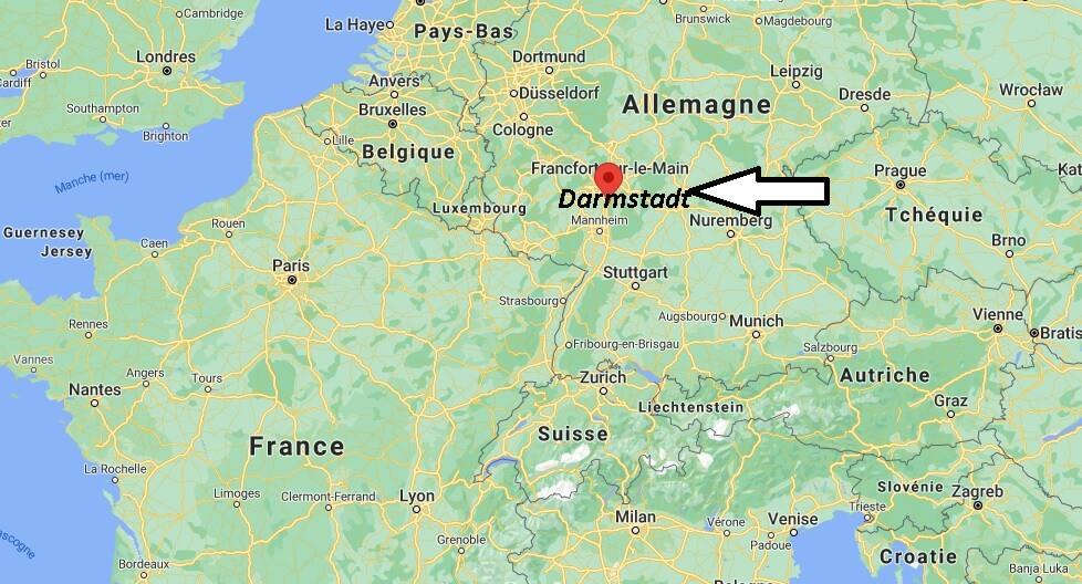 Où se trouve Darmstadt