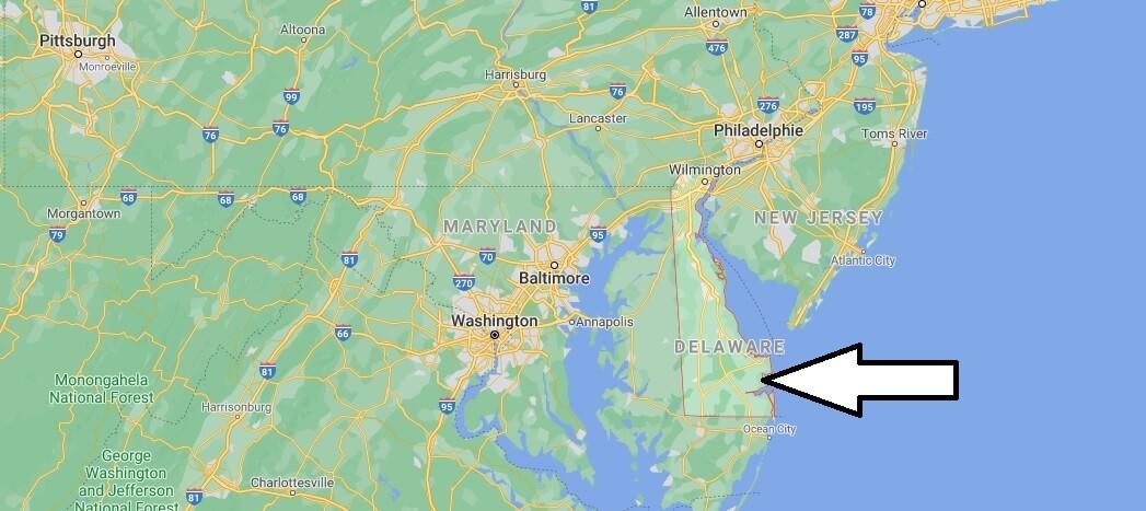 Où se trouve Delaware