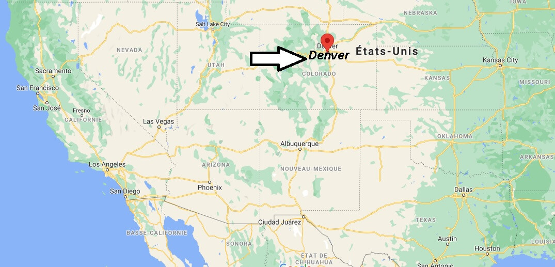 Où se trouve Denver