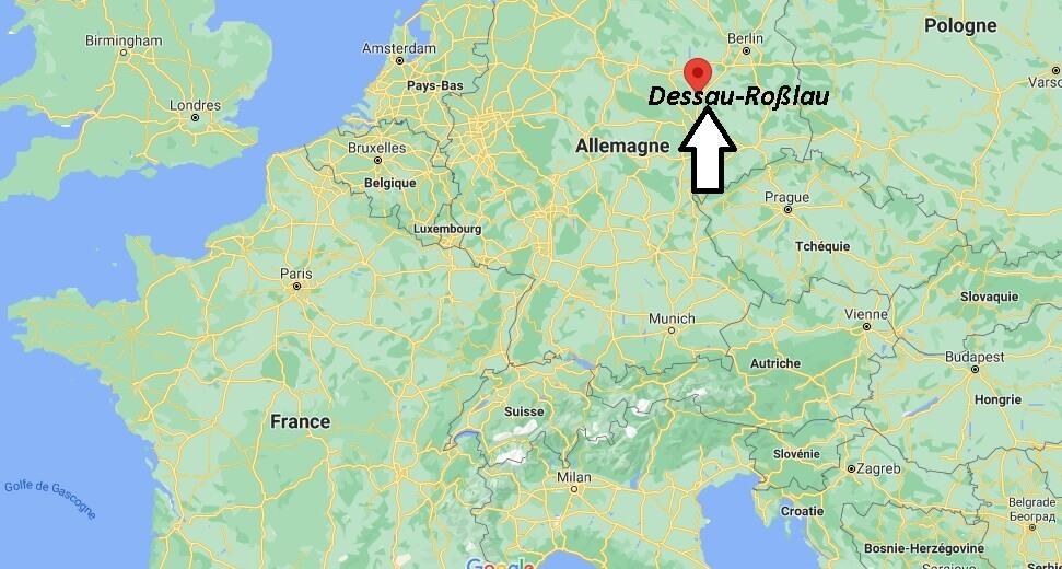 Où se trouve Dessau-Roßlau