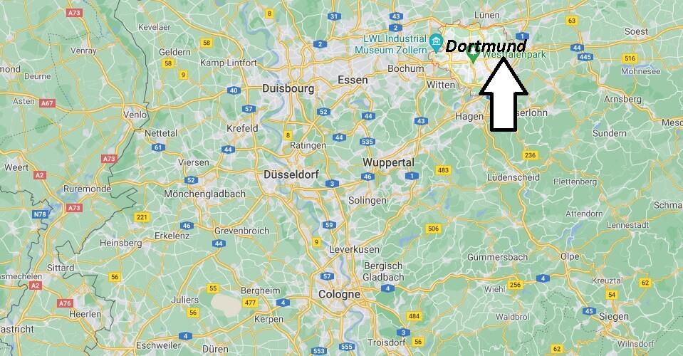 Où se trouve Dortmund