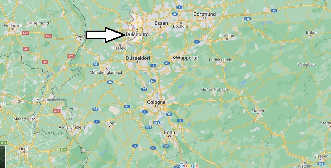 Où se trouve Duisbourg