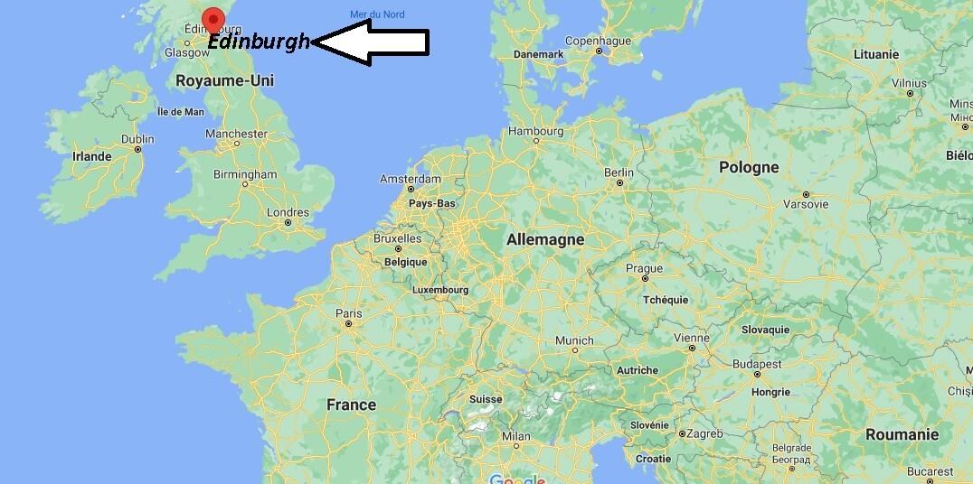 Où se trouve Edinburgh