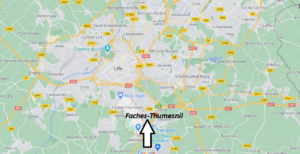 Où se trouve Faches-Thumesnil