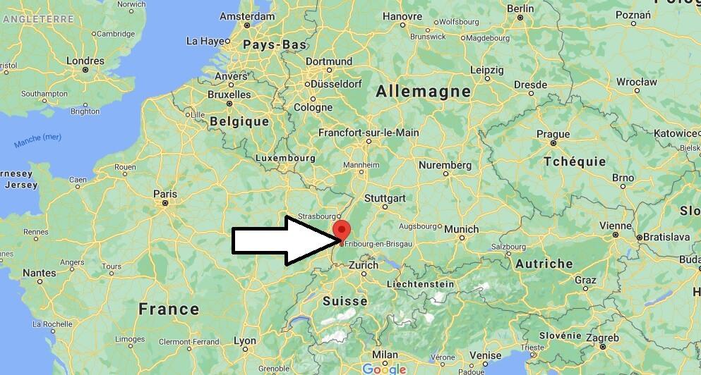 Où se trouve Freiburg
