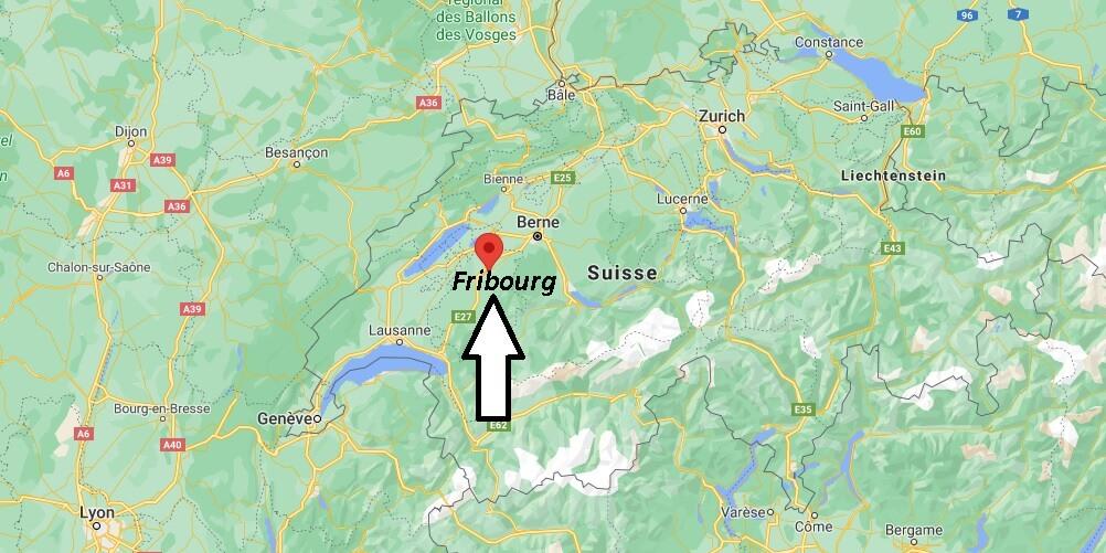 Où se trouve Fribourg