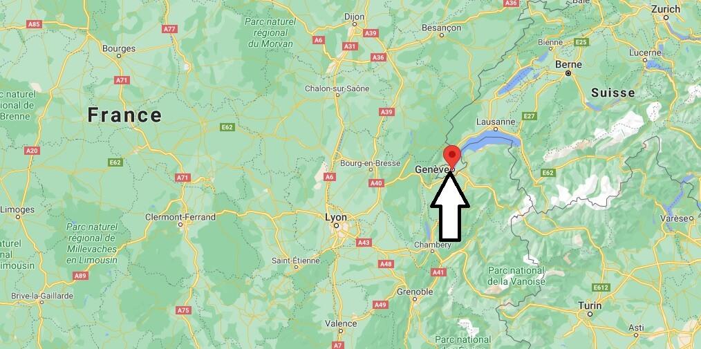 Où se trouve Genève