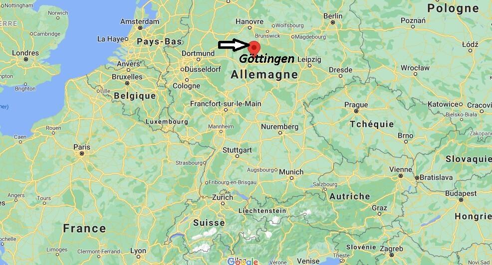 Où se trouve Göttingen