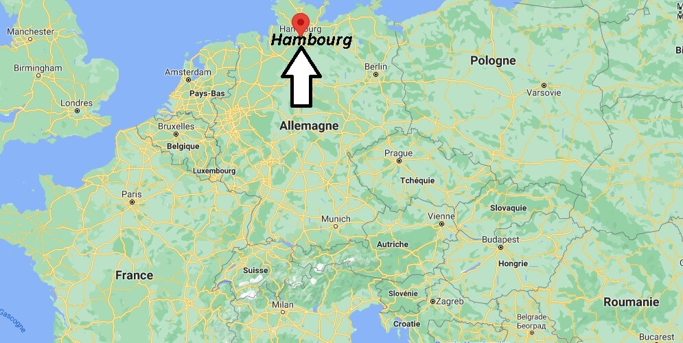 Où se trouve Hambourg