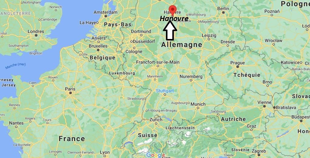 Où se trouve Hanovre