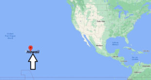 Où se trouve Hawaii