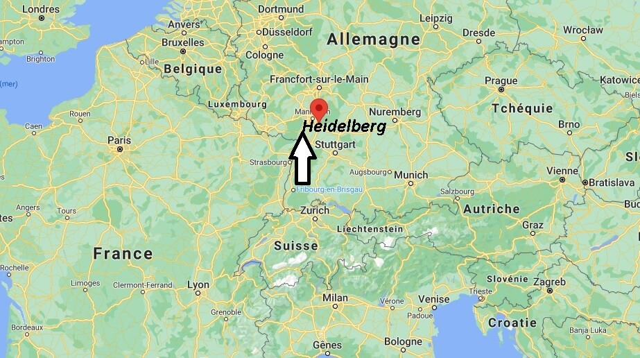 Où se trouve Heidelberg