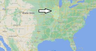 Où se trouve Illinois