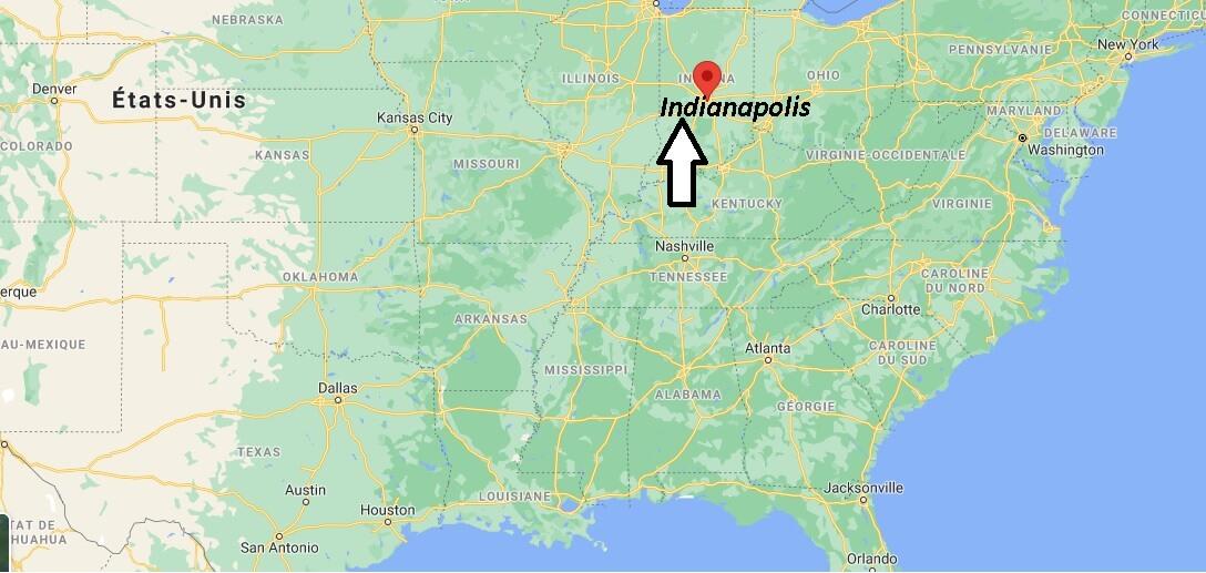 Où se trouve Indianapolis