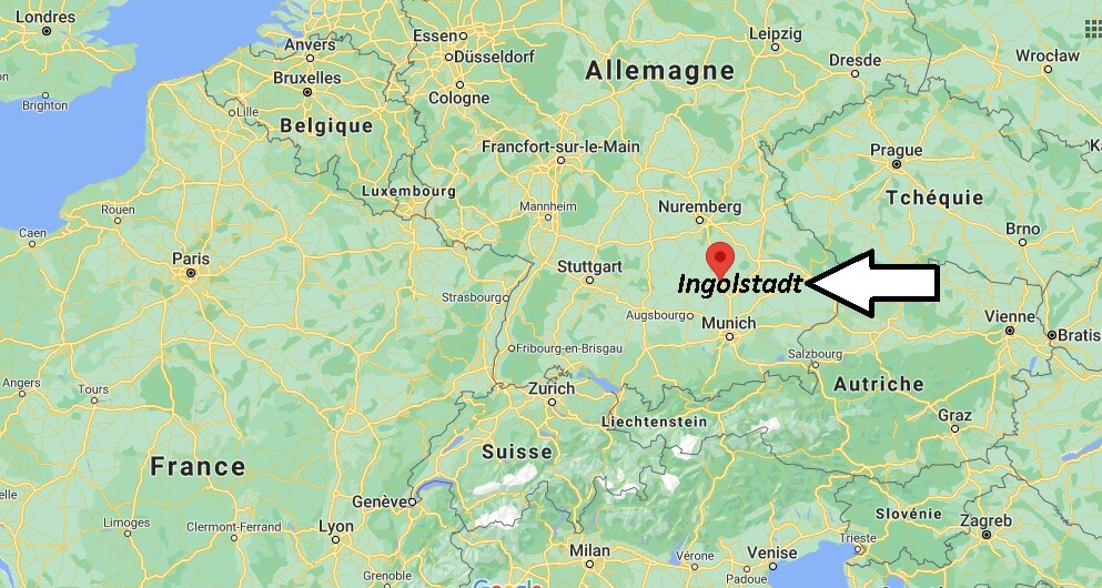Où se trouve Ingolstadt