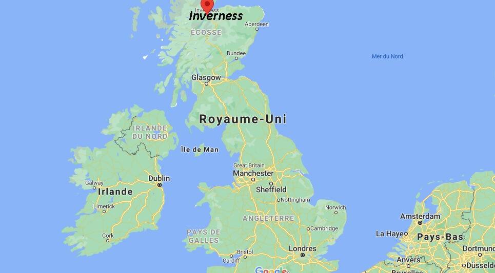 Où se trouve Inverness