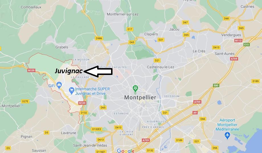 Où se trouve Juvignac