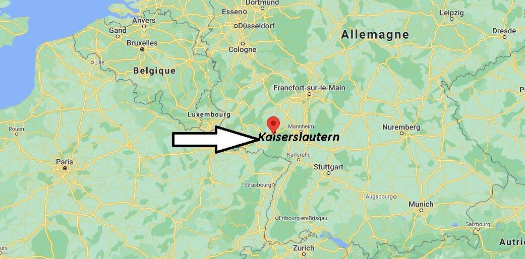 Où se trouve Kaiserslautern