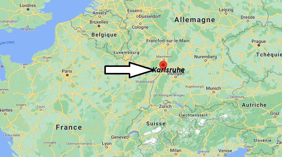 Où se trouve Karlsruhe