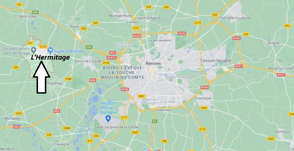 Où se trouve L-Hermitage